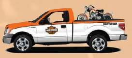 Ford Harley Davidson - 2010 orange/white - 1:24 - Maisto - 32173ow - mai32173ow | Tom's Modelauto's
