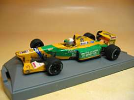 Benetton  - 1992 yellow/green - 1:43 - Onyx - onyx144 | Tom's Modelauto's