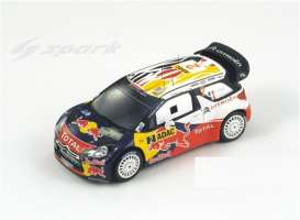 Citroen  - 2011 white/red/blue - 1:43 - Spark - s3322 - spas3322 | Tom's Modelauto's