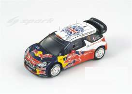 Citroen  - 2011 white/red/blue - 1:43 - Spark - s3325 - spas3325 | Tom's Modelauto's