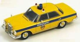 Mercedes Benz  - 1980 yellow - 1:43 - Spark - a010 - spaa010 | Tom's Modelauto's