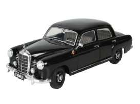 Mercedes Benz  - 1953 black - 1:18 - Revell - Germany - 08973 - revell08973 | Tom's Modelauto's
