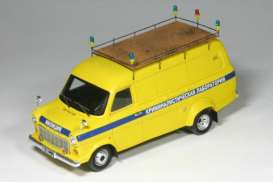 Ford  - 1971 yellow - 1:43 - Spark - a011 - spaa011 | Tom's Modelauto's