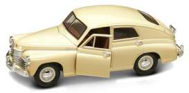 GAZ  - 1946 cream - 1:24 - Lucky Diecast - 24214cr - ldc24214cr | Tom's Modelauto's
