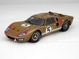 Ford  - 1966 gold - 1:18 - Shelby Collectibles - shelby403 | Tom's Modelauto's