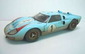 Shelby Collectibles - Ford  - shelby405 : 1966 Ford GT40 MKII #1 Team Shelby America *Gulf* with drivers K.Miles/D.Hulme *Special After Race version*
