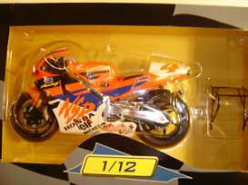 Honda  - 1994 red-orange/white - 1:12 - IXO Models - AltaGX020Doohan | Tom's Modelauto's