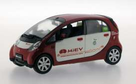 Mitsubishi  - 2008 red/white - 1:43 - J Collection - jc177 | Tom's Modelauto's