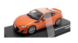 Toyota  - 86 TRD orange - 1:43 - J Collection - 73019or - jc73019OR | Tom's Modelauto's