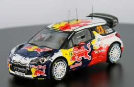 Citroen  - DS3 WRC #23 2012 red/white/blue - 1:43 - IXO Models - ram488 - ixram488 | Tom's Modelauto's