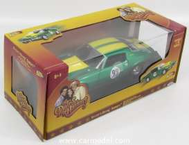 Johnny Lightning - Chevrolet  - JL21958 : 1970 Cooters Chevrolet Camaro 350 #99 *Dukes Of Hazard*, green/yellow