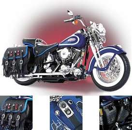 Harley Davidson  - blue - 1:10 - Franklin Mint - FB11YF03 | Tom's Modelauto's