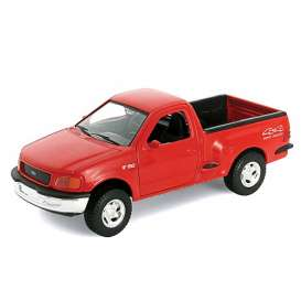 Ford  - 1998 red - 1:24 - Welly - 29396r - welly29396r | Tom's Modelauto's