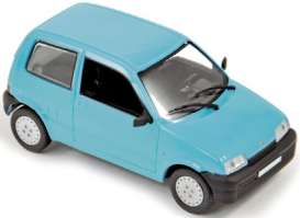 Fiat  - 1991 light blue - 1:43 - Norev - nor775303 | Tom's Modelauto's