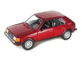 Plymouth  - 1985 red - 1:24 - Motor Max - 73341r - mmax73341r | Tom's Modelauto's