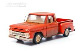 GreenLight - Chevrolet  - gl12863 : 1963 Chevrolet pick-up *Twilight* Bellas Truck, red-orange