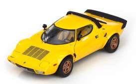 Lancia  - 1975 yellow - 1:18 - SunStar - 4524 - sun4524 | Tom's Modelauto's