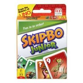 Mattel Games - Games Kids - MatT1882 : Skip-Bo junior