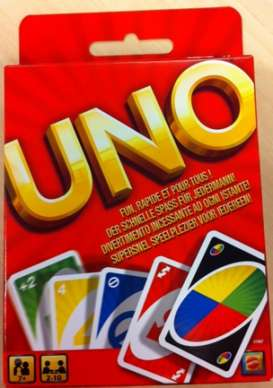 Mattel Games - Games Kids - MatW2087 : Uno is fast, furious and fun for all.