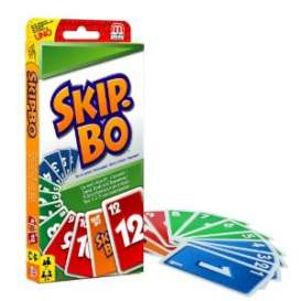 Mattel Games - Games Kids - Mat52370 : Skip-Bo, the fun and exciting card game for the whole family.