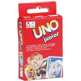 Mattel Games - Games Kids - Mat52456 : Uno junior. Children will love this game!