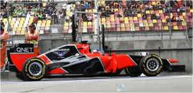 Marussia  - 2012 red/black - 1:43 - Spark - s3039 - spas3039 | Tom's Modelauto's