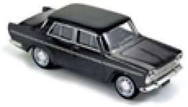 Fiat  - 1964 black - 1:43 - Norev - nor770201 | Tom's Modelauto's