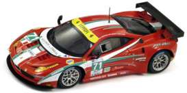 Ferrari  - 2012 red - 1:43 - Fujimi Resin Collection - FRC1343004 | Toms Modelautos