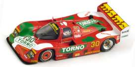 Porsche  - 1989 red - 1:43 - Spark - s2987 - spas2987 | Tom's Modelauto's
