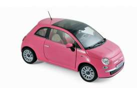 Fiat  - 500C 2010 pink - 1:18 - Norev - 187752 - nor187752 | Toms Modelautos