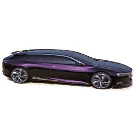 Citroen  - Numero 9 2012 purple - 1:43 - Norev - nor159501 | Tom's Modelauto's
