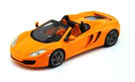 McLaren  - 2013 orange - 1:43 - TrueScale - m134333 - tsm134333 | Tom's Modelauto's