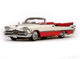 SunStar - Dodge  - sun5471 : 1959 Dodge Custom Royale Lancer open Convertible, red/white