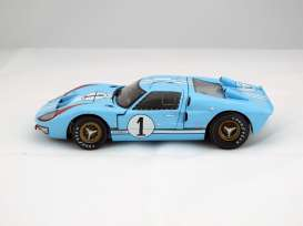 Shelby Collectibles - Ford  - shelby411 : 1966 Ford GT40 MKII #1 Team Shelby America *Gulf* with drivers K.Miles/D.Hulme