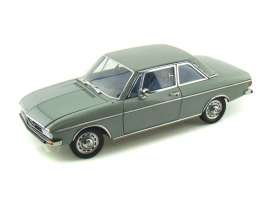 Audi  - 100 LS 2-door 1972 green-grey - 1:18 - Signature Models - 38211 - sig38211gn | Toms Modelautos