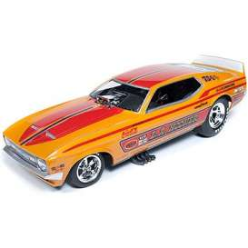 Ford  - Mustang NHRA Funny Car 1971 orange/red - 1:18 - Auto World - 1106 - AW1106 | Tom's Modelauto's
