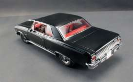 Acme Diecast - Chevrolet  - Acme1805301 : 1965 Chevrolet Malibu Z16, black on red