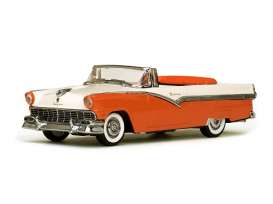 Vitesse SunStar - Ford  - vss36277 : 1956 Ford Fairlane open convertible, red-orange/white