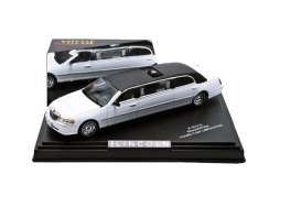 Lincoln  - 2000 white/black - 1:43 - Vitesse SunStar - 36310 - vss36310 | Tom's Modelauto's
