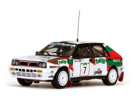 Lancia  - 1988 white/orange/green - 1:43 - Vitesse SunStar - 42417 - vss42417 | Toms Modelautos