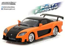 GreenLight - Mazda  - gl86212 : 1997 Mazda RX7 Fast and The Furious Tokyo Drift (2006),