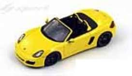 Porsche  - 2012 yellow - 1:43 - Spark - s3395 - spas3395 | Tom's Modelauto's