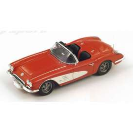 Chevrolet  - 1960 red - 1:43 - Spark - s2970 - spas2970 | Tom's Modelauto's