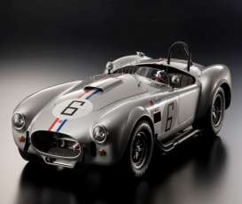 Shelby  - Cobra 427 S/C Racing Screen #6 silver - 1:12 - Kyosho - 8632S - kyo8632S | Tom's Modelauto's