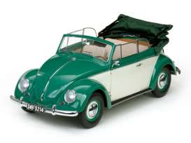 Volkswagen  - 1949 green/white - 1:12 - SunStar - sun5214 | Tom's Modelauto's