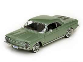Chevrolet  - 1963 laurel green - 1:18 - SunStar - 1483 - sun1483 | Toms Modelautos