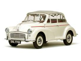 Morris  - Minor 1000 tourer 1965 old english white - 1:12 - SunStar - 4774 - sun4774 | Toms Modelautos