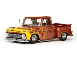 SunStar - Chevrolet  - sun1392 : 1965 Chevrolet C-10 Stepside lowrider, metallic orange