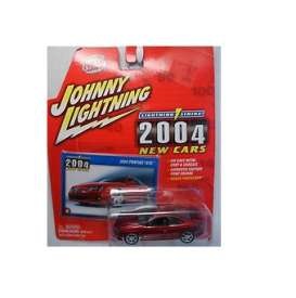 Pontiac  - 2004 red - 1:64 - Johnny Lightning - jl39001F | Tom's Modelauto's