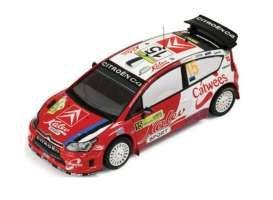 IXO Models - Citroen  - ixram327 : 2008 Citroen C4 WRC #15 Aava/Sikk 4th Rally Greece, red/white